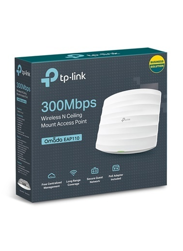 TP-LINK EAP110 Outdoor 300Mbps Wireless N Access Point Renkli